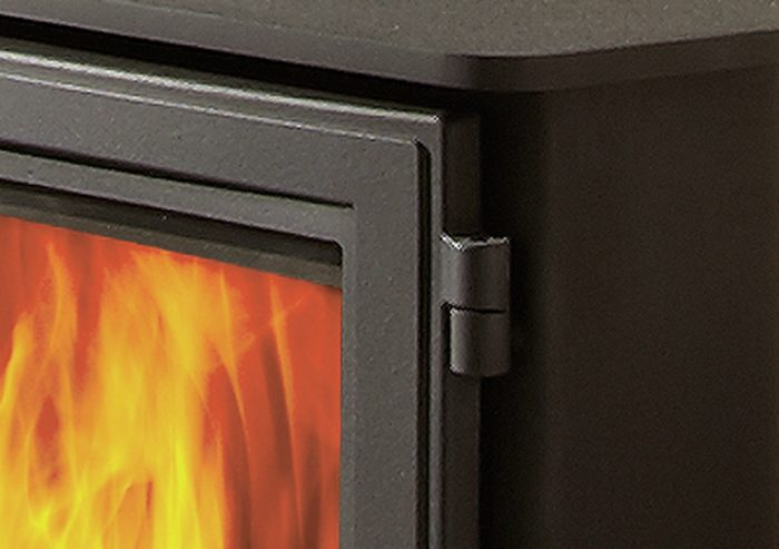 Chesneys Salisbury 5WS series wood burning stove in Black Anthracite