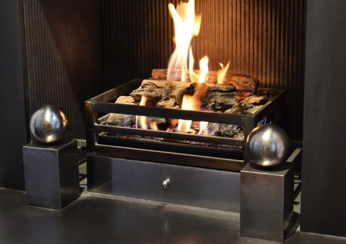 The Alchemy Log Effect DFE Gas Fire – The Fireplace Company, Crowborough, 1