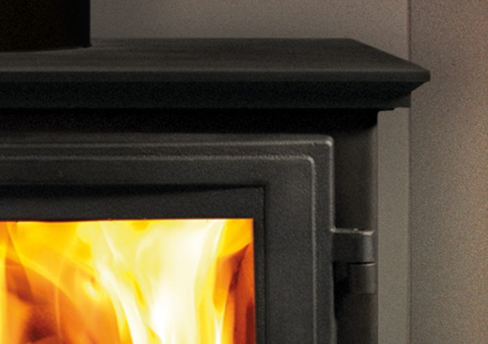 Chesneys Shipton 8 series multi-fuel stove in Black Anthracite