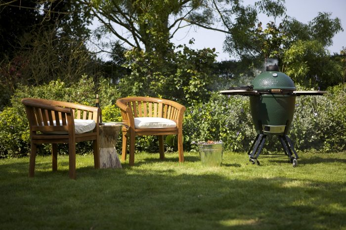 Big Green Egg chairs