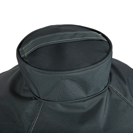 Big Green Egg Cover Premium Ventilated Nest Cover Extra Large Green Detail 1