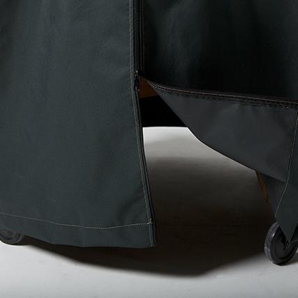 Big Green Egg Cover Premium Ventilated Nest Cover Medium Detail 2