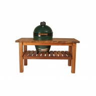 Big Green Egg Table Royal Mahogany Large Natural Detail 1