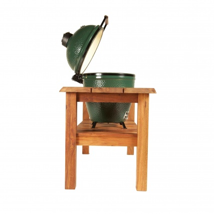 Big Green Egg Table Royal Mahogany Large Natural Detail 2