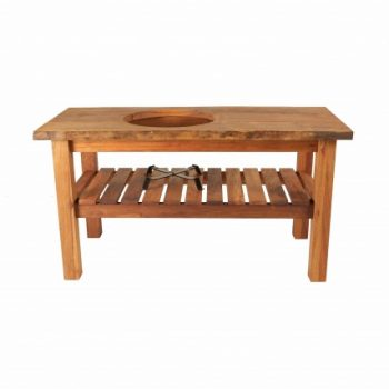 Big Green Egg Table Royal Mahogany Large Natural Main