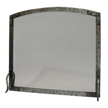 Chesneys Avebury fire screen curved