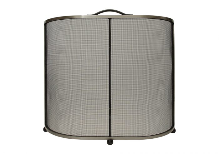 Chesneys Lombard fire screen in steel