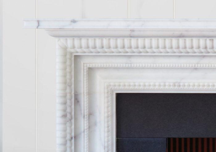 Chesneys Carlton fireplace by Alexa Hampton