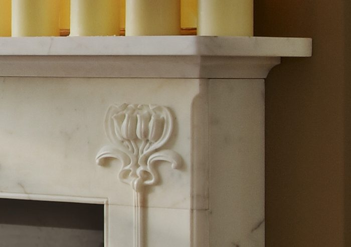 Chesneys Hulanicki Art Nouveau fireplace By Barbara Hulanicki