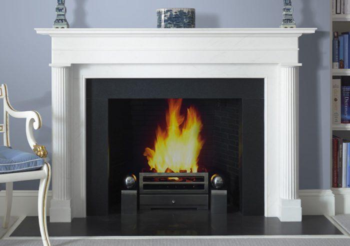 Chesneys Fireplace Contemporary Lincoln By Alexa Hampton Main