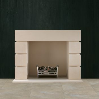Chesneys Tate fireplace with the Popular fire basket