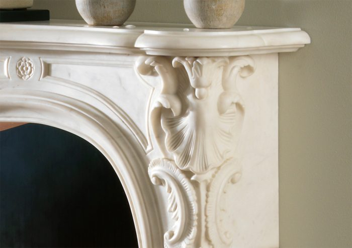 Chesneys Fireplace French Navarre Detail 2