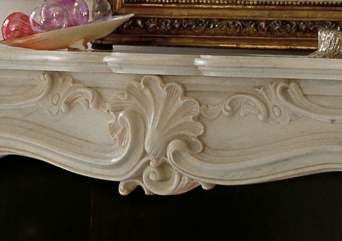 Chesneys Fireplace French Regence Detail 1