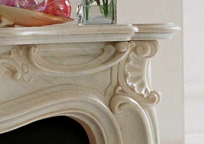 Chesneys Fireplace French Regence Detail 2