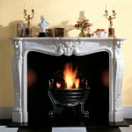 Chesneys Versailles fireplace with Adam No. 2 fire basket