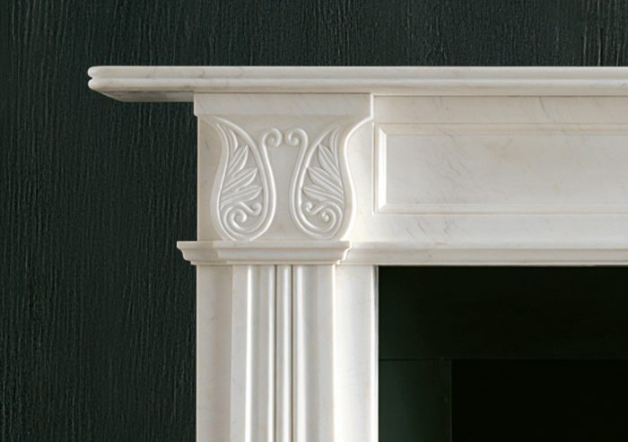 Chesneys Fireplace Regency Acanthus Detail 1