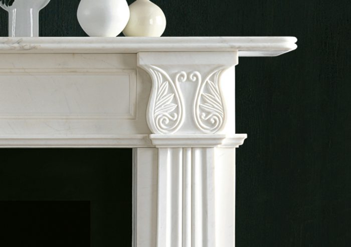 Chesneys Fireplace Regency Acanthus Detail 2