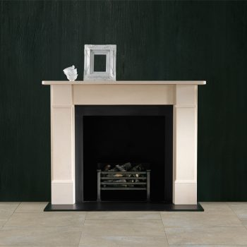 Chesneys Classic Victorian fireplace with the Amhurst fire basket