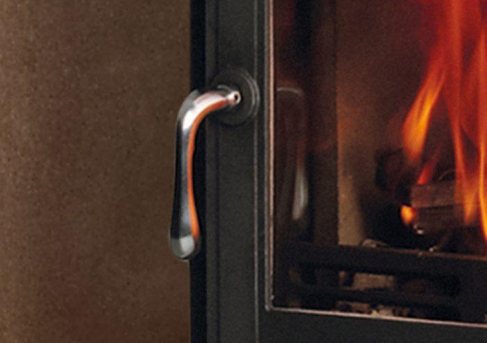 Chesneys Salisbury 6 series multi-fuel stove in Black Anthracite
