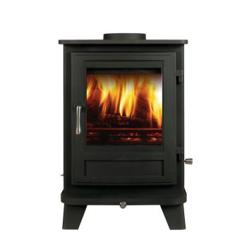 Chesneys Salisbury 6 series multi-fuel stove in Black Anthracite