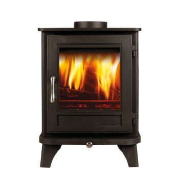 Chesneys Salisbury 4 series wood burning stove in Black Anthracite
