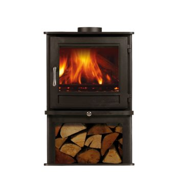 Chesneys Salisbury 5 series LS wood burning stove in Black Anthracite