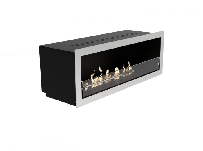 Decoflame Bioethanol Fire Orlando Open Front Manual Or E-Ribbon Detail 1