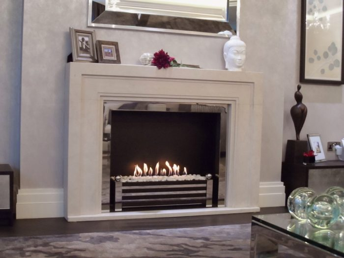 Decoflame Bioethanol Fire Westminster DS feature 2