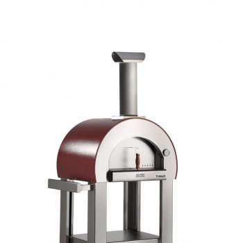 Alfa Pizza 5 Minuti wood-fired oven antique red main 682