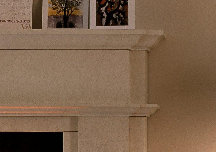 Chesneys Alhambra fireplace detail