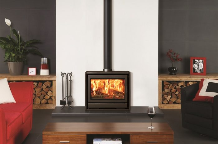 Stovax & Gazco Riva F76 Freestanding wood burning or multi-fuel stove
