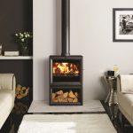 Stovax & Gazco View 8 midline wood burning or multi-fuel stove