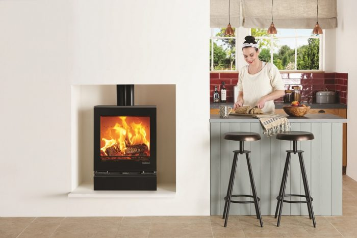 Stovax & Gazco Vision Medium wood burning stove