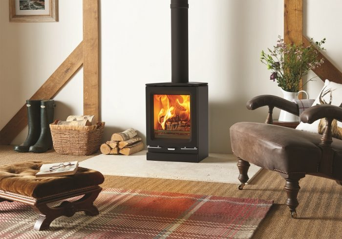 Stovax & Gazco Vogue Small wood burning stove