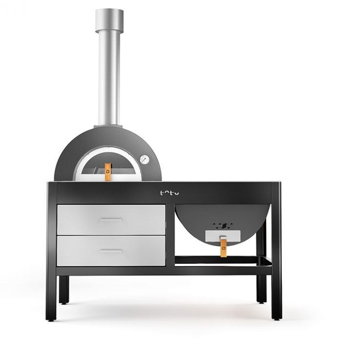 Alfa Pizza Toto wood-fired oven grill grey 722
