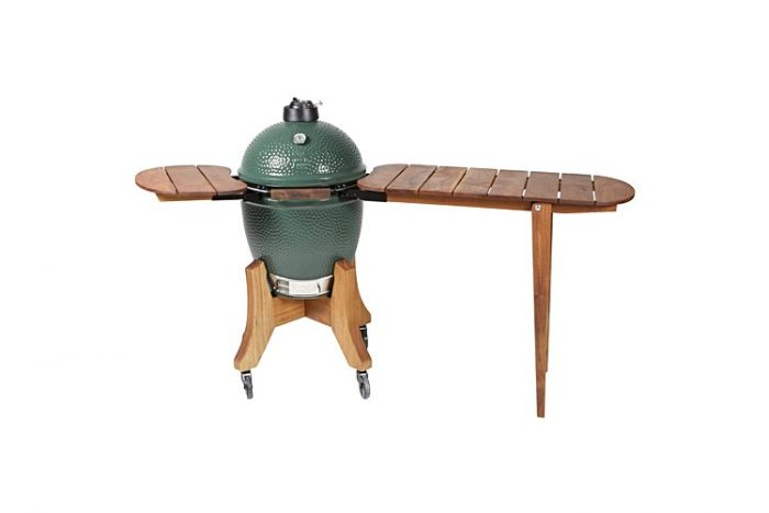Big Green Egg Royal Mahogany Folding Shelf and Bartop