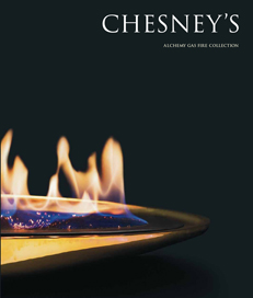 Chesneys high-efficiency gas fires DFE basket grate fires catalogue 231