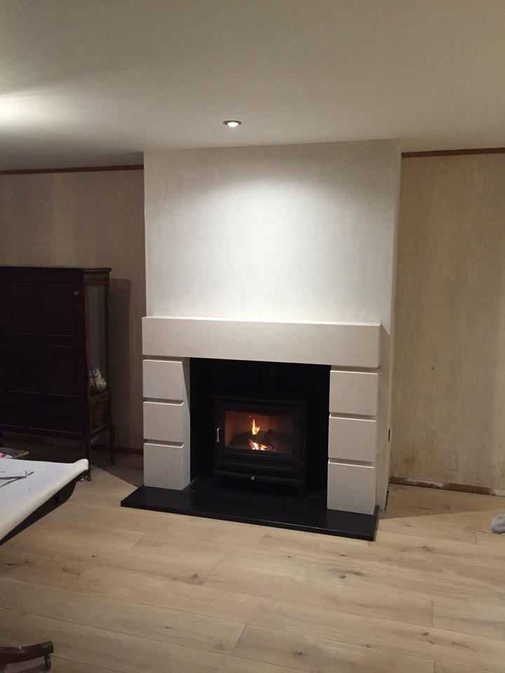 Chesneys Tate fireplace and Salisbury 12 wood burning stove, Tunbridge Wells, Kent 720