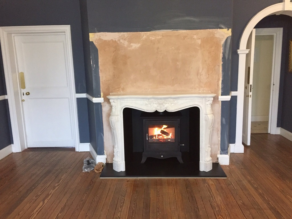Chesneys Versailles fireplace and Beaumont 8 wood burning stove, Chistlehurst, Kent, part three 1024