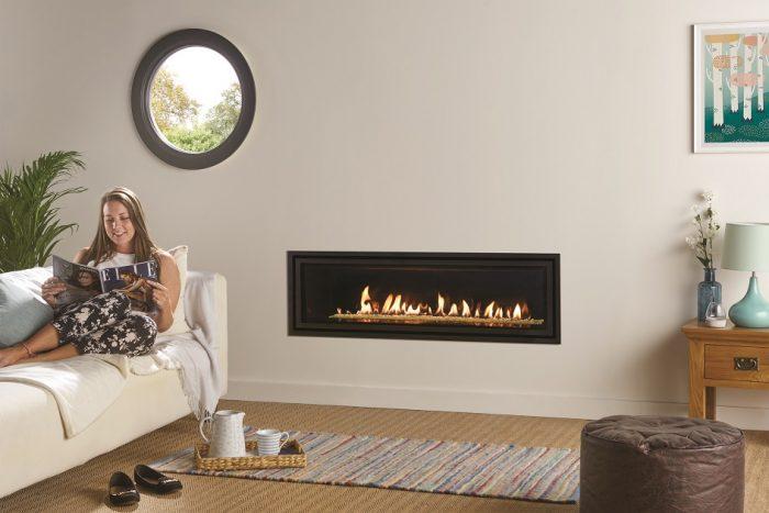 Stovax Gazco Studio 3 gas fire Edge + 945