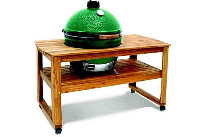 Big Green Egg Table Acacia Extra Large XL main