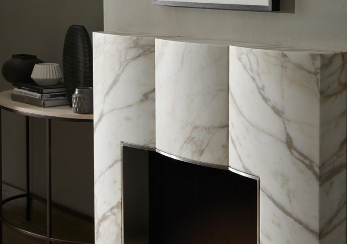 Chesneys fireplace Kelly Hoppen Collection The Bradley detail
