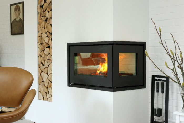 RAIS 500 (2) wood burning stove
