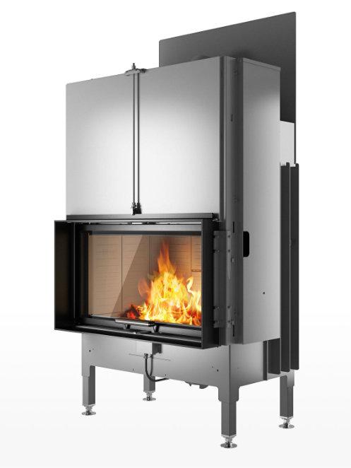 Rais Visio 1 product wood burning stove insert