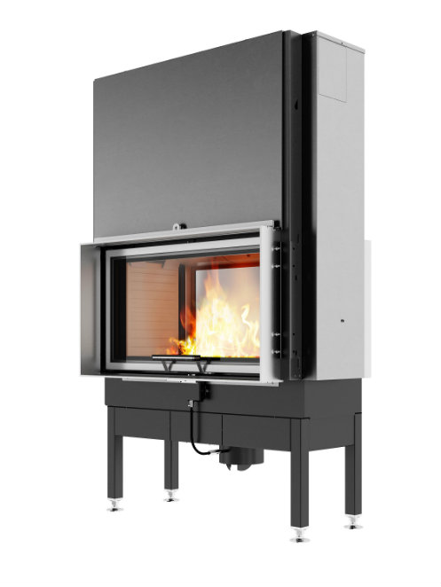 RAIS Visio Tunnel 2:1 wood burning stove