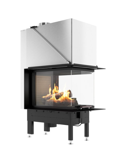 Rais Visio 3:1 product wood burning stove insert