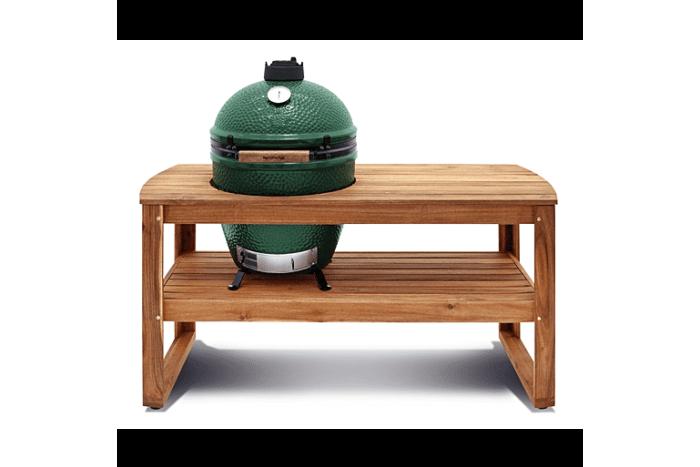 Big Green Egg L acacia table product image