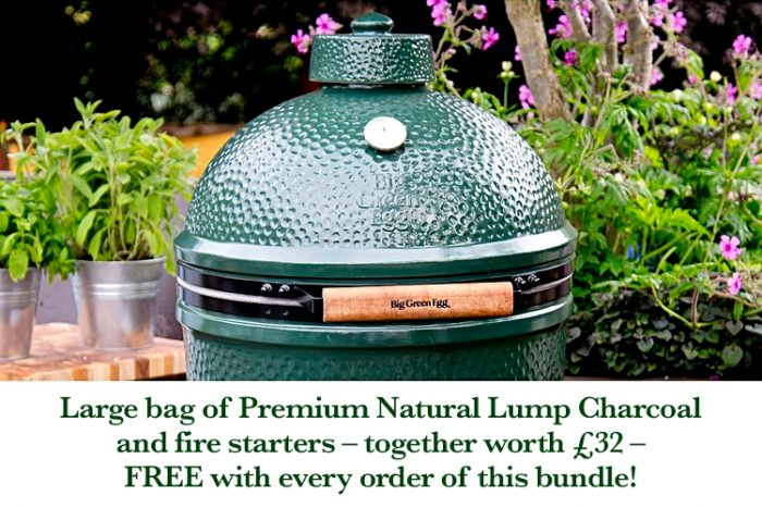 Big Green Egg large with nest bundle v3