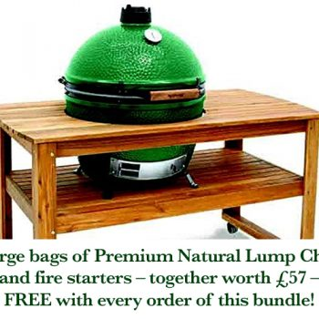 Big Green Egg Large with table bundle v5