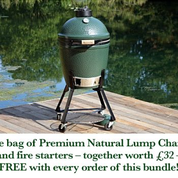 Big Green Egg Medium with nest bundle v3